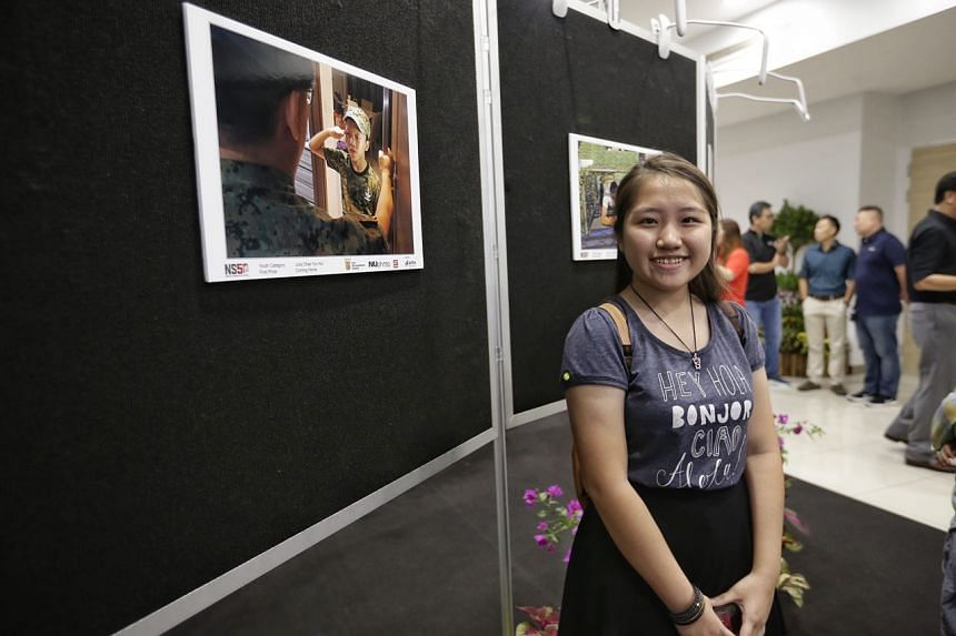 Chee Yun Hui Julia came in first with her photo in the Youth Category.