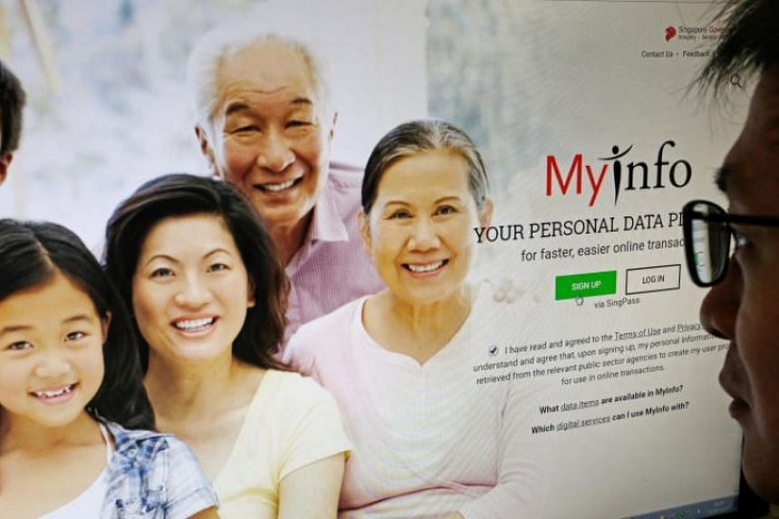 Launched in May last year, MyInfo pulls personal data, such as names, NRIC numbers and addresses, from public agencies.