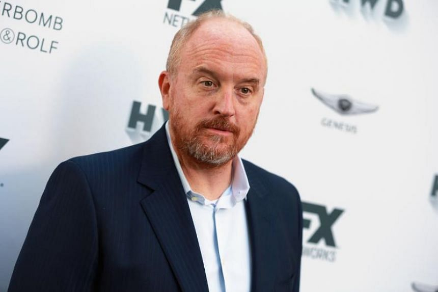 Louis C.K. attending the FX and Vanity Fair Emmy Celebration at Craft in Century City, California on Sept 15, 2017.