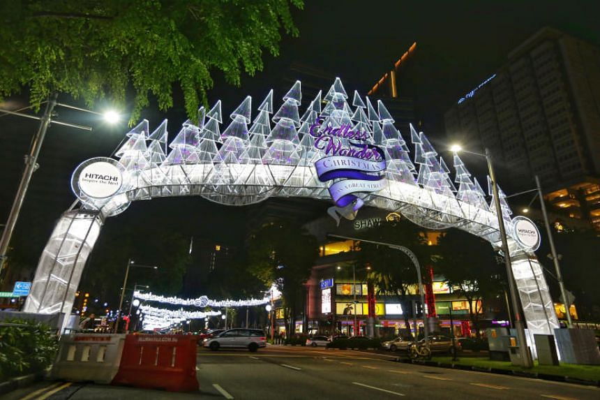 This year's light-up span a total of 2.88km, from Tanglin Mall to Plaza Singapura.