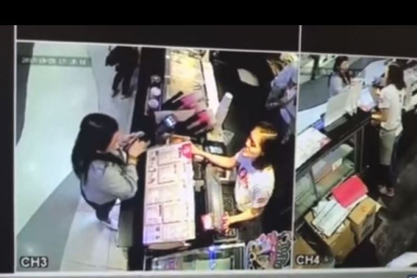 Denise Neo had hoped that posting the CCTV footage could help her find the person who took her phone.
