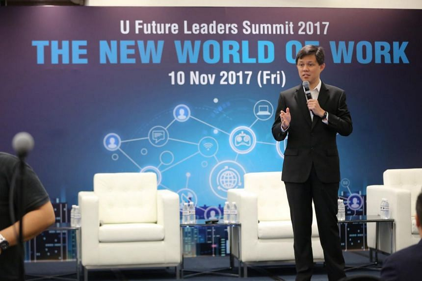 National Trades Union Congress (NTUC) secretary-general Chan Chun Sing announced the U Future Leaders Exchange (UFLX), which offers users unlimited access to more than 60 workshops over a year, on subjects ranging from data science to public speaking