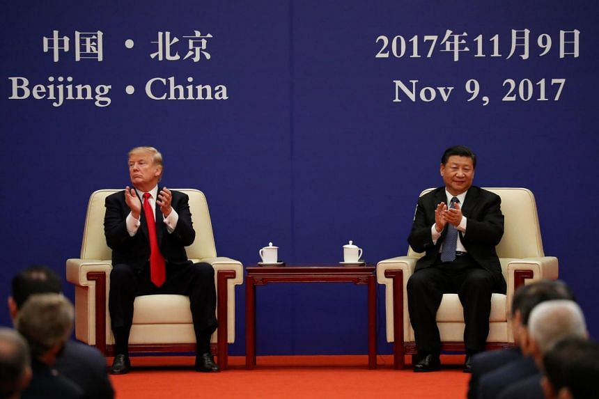 American President Donald Trump (left) and Chinese President Xi Jinping have offered starkly contrasting visions of their trade ties with the rest of the region.
