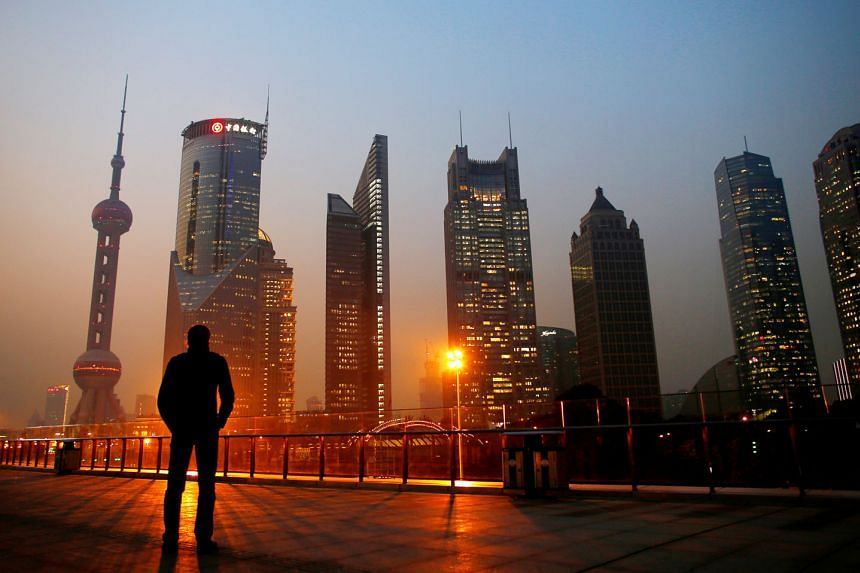The Pudong financial district of Shanghai. While it is true that the Chinese economy has a higher degree of state intervention than many developed economies, its fast growth can hardly be used as a case against free market capitalism, says the writer
