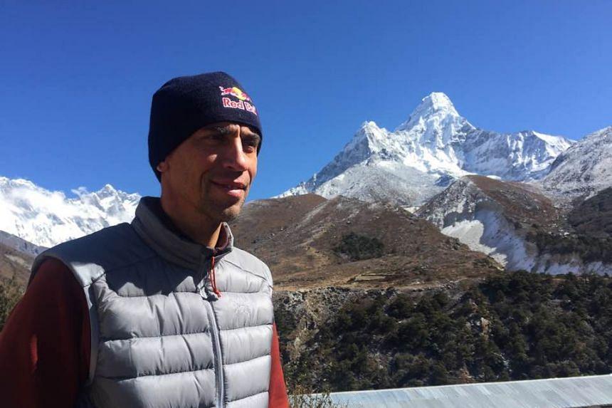 "Valery Rozov, 52, was pursuing a ""seven summits"" quest when he died. PHOTO: FACEBOOK/VALERY ROZOV"