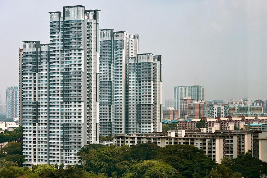 Flats in Tanglin Halt completed in 2013 under Sers. While selling private homes en bloc displace original communities, Sers keeps them mostly intact as many residents move into the same replacement site offered by HDB.
