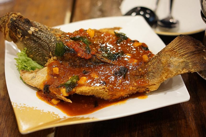 Soi 47's Sweet Thai Chilli Fish.