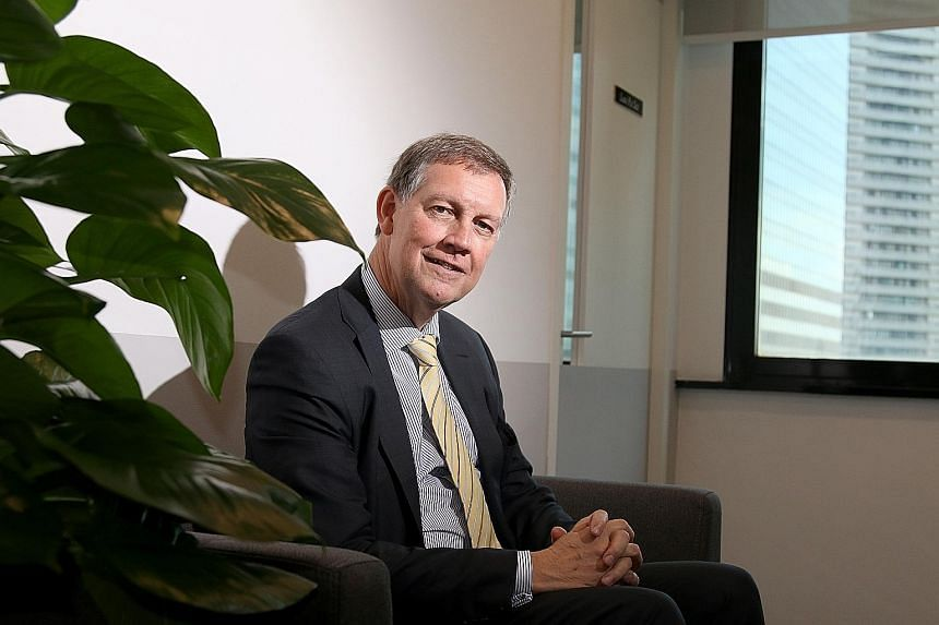 Mr Tommy Helsby joined Kroll in 1981 when it was a single-office company in New York and is now its longest-serving employee. The chairman of investigations and disputes at Kroll says Singapore has become a very active hub for the firm, as emerging m