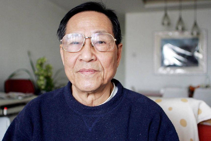 Former Communist Party official Bao Tong (pictured in 2007) was jailed for sympathising with the 1989 Tiananmen Square protests.
