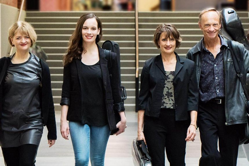 The New Zealand group are one of the leading string quartets in the world.