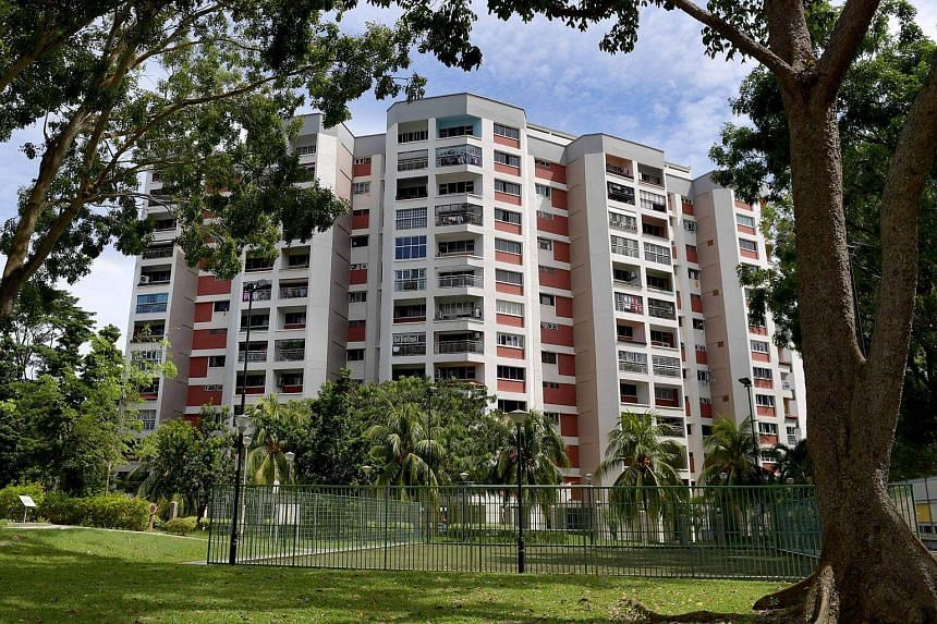 Former HUDC estate Tampines Court is one of the mega sites which may be  redeveloped to more than 1,000 new homes.