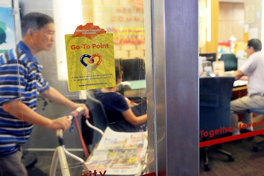 A go-to point in Nee Soon GRC, where members of the public can learn about dementia. People who find lost dementia-sufferers can also take them to these points.