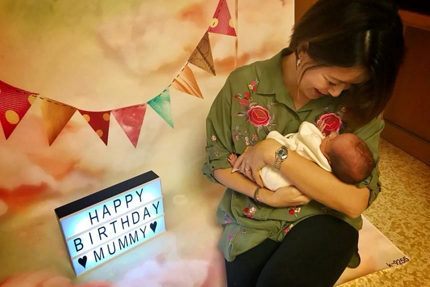 Chen gave birth to her twins via emergency C-section at Mount Elizabeth Hospital.