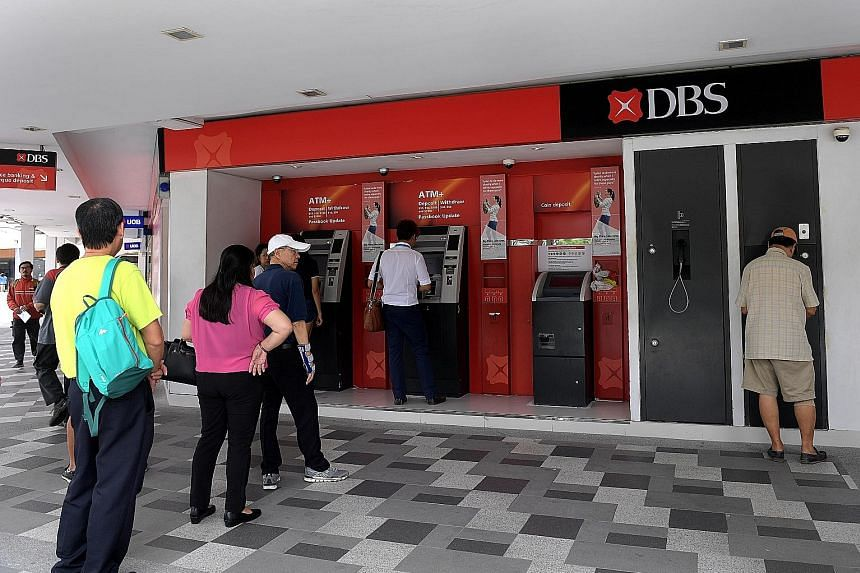 DBS is plugging one of its data centres here into the cloud, a move which will make the centre 75 per cent cheaper to run. Also, with cloud technologies, the bank can deliver products to customers at a faster rate.