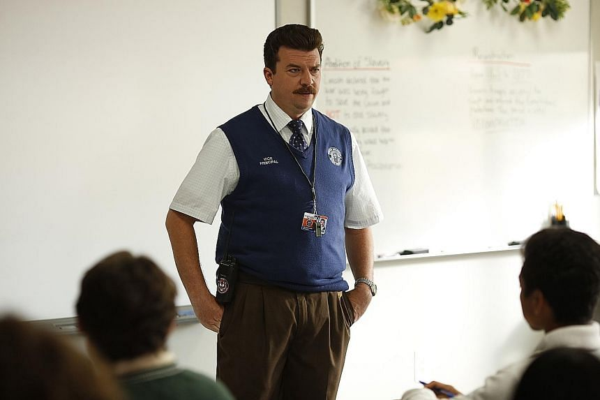 Danny McBride plays a foul-mouthed but ambitious school vice-principal in Vice Principals.