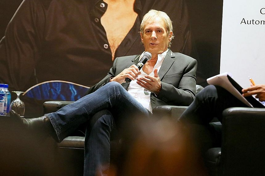 Singer Michael Bolton, 64, who is on a concert tour, has no plans to retire yet.