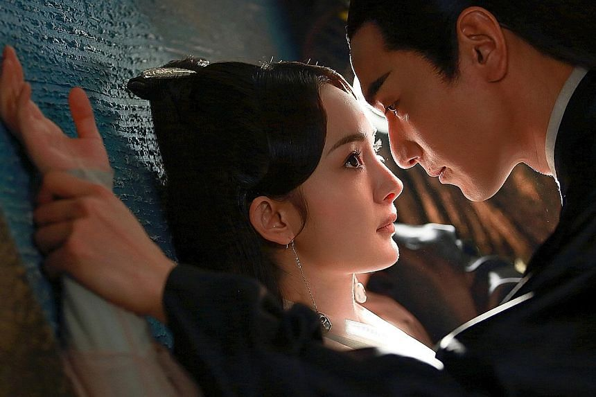 TV series Eternal Love, which is based on a 2008 online novel, stars Taiwanese actor Mark Chao and Chinese actress Yang Mi. It is one of the most viewed Chinese dramas, with more than 35 billion online views. TV series Empresses In The Palace is base