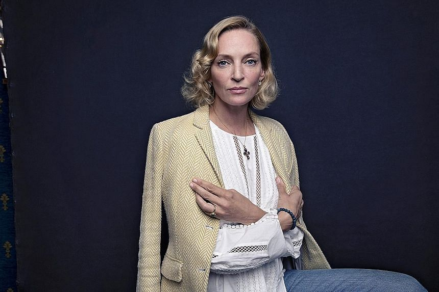 Plays were actually Uma Thurman's first taste of acting. As a sophomore at a Massachusetts boarding school, she played the female lead in the Crucible.