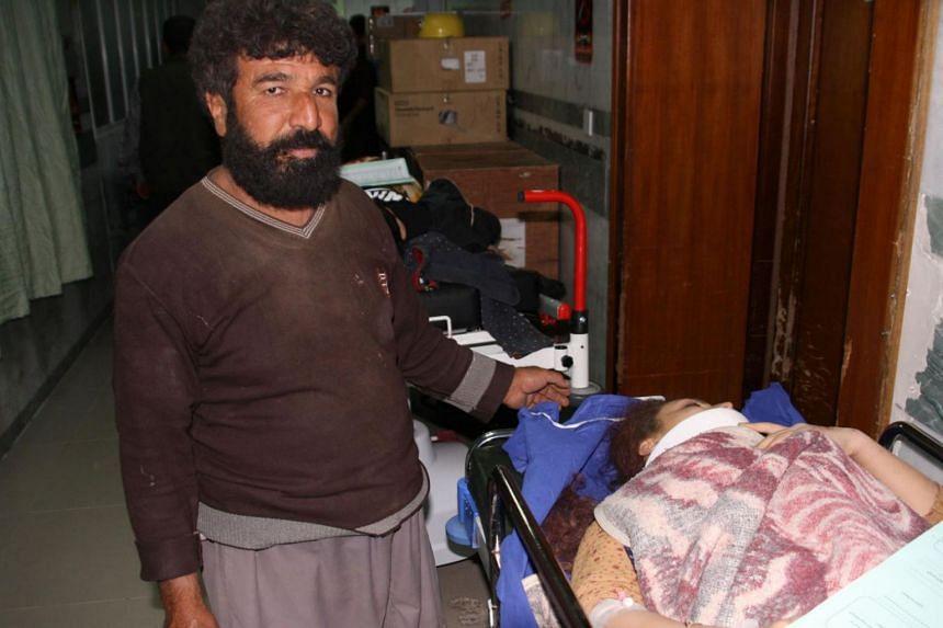 The earthquake struck Iran's Kermanshah province on the Iraqi border on Nov 12, according to state media.