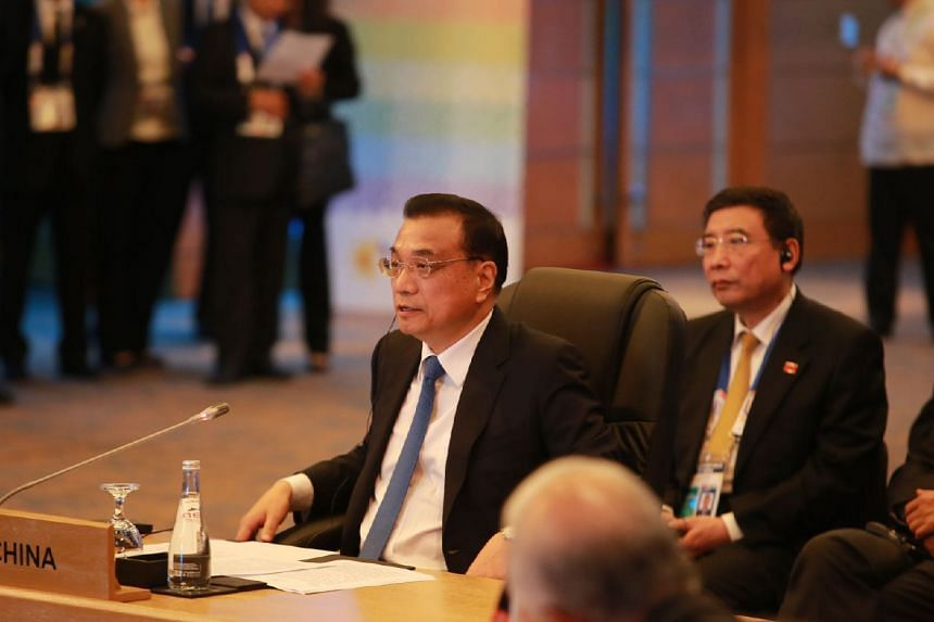 """Chinese premier Li Keqiang said that that China """"always sees Asean as a priority in our neighbourhood diplomacy"""""""