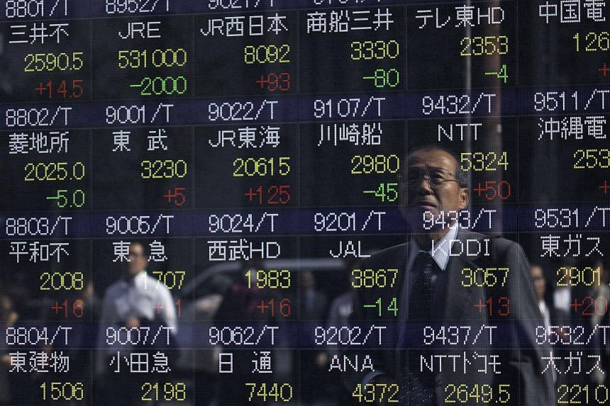 MSCI's broadest index of Asia-Pacific shares outside Japan dipped 0.15 per cent while Tokyo's benchmark Nikkei dropped 0.7 per cent.