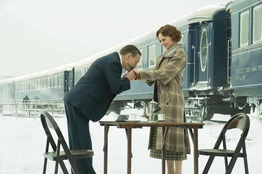 Kenneth Branagh and Daisy Ridley in Murder on the Orient Express.