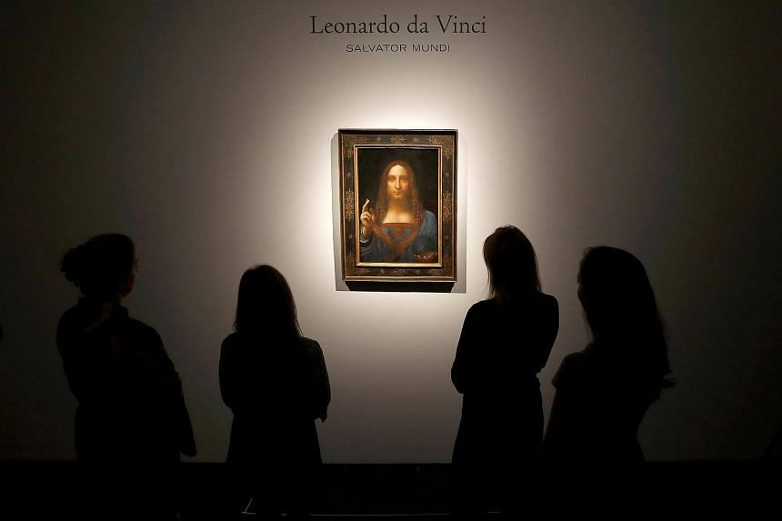 Salvator Mundi, a painting of Jesus Christ by the Renaissance artist Leonardo da Vinci circa 1500, is the star lot in New York's November art auctions that will see Christie's and Sotheby's chase combined art sales of more than US$1 billion.
