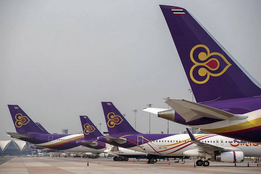 Thai Airways, swung to an operating profit of 739 million baht (S$30.4 million) for the third quarter, from a 836 million baht loss a year ago.