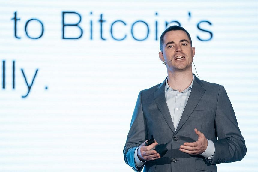 Roger Ver, chief executive officer of Bitcoin.com, speaking at the Shape the Future: Blockchain Global Summit in Hong Kong.