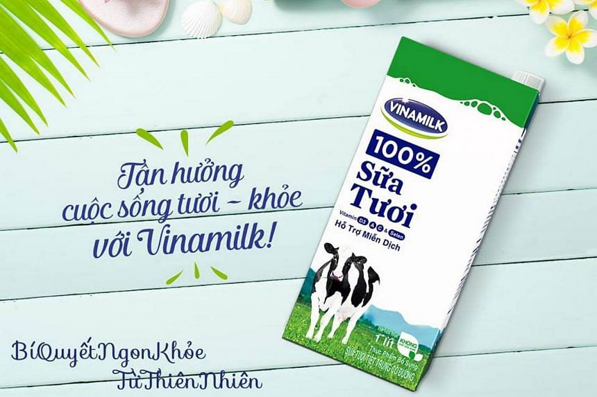 Vinamilk has a market share of some 58 per cent in Vietnam's dairy market and is the largest listed company in the country by market capitalisation.