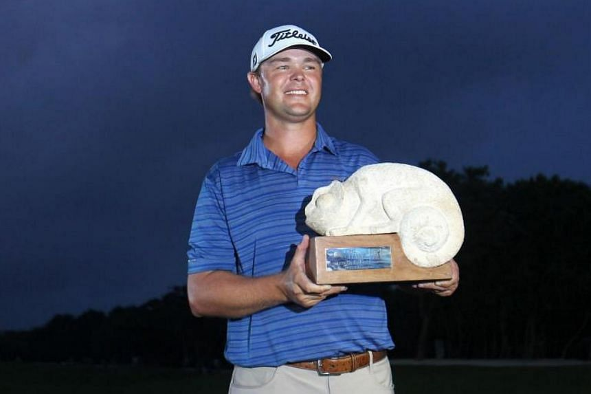 A tap-in par at the final hole gave Kizzire his first victory on tour, one stroke ahead of Fowler.