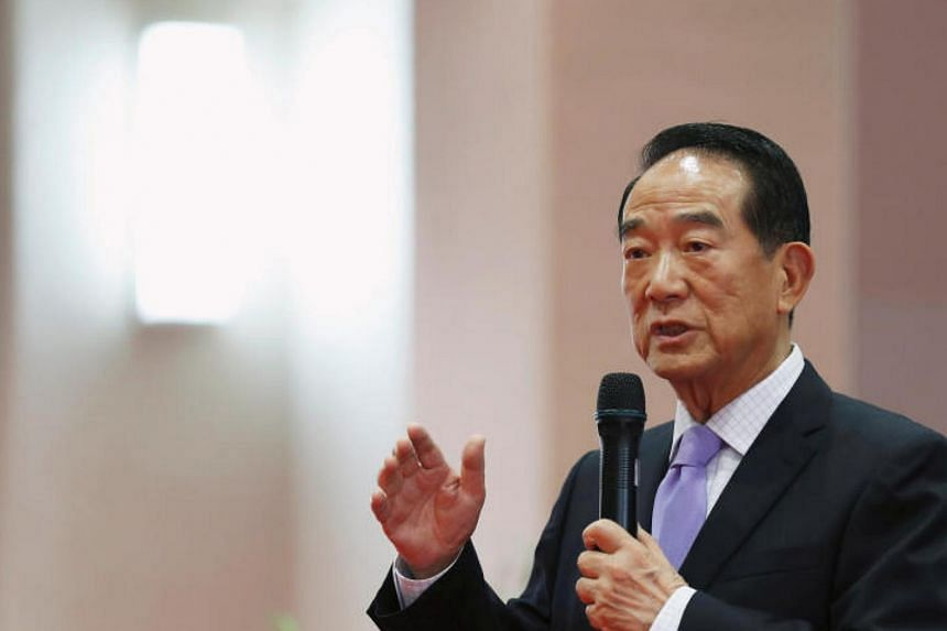 "Taiwanese special envoy to Apec James Soong also said he had a ""natural interaction"" with Chinese President Xi Jinping."