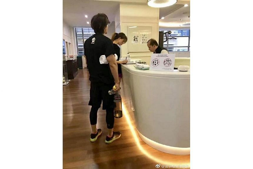Jerry Yan and Chiling Lin were spotted at the Mandarin Oriental hotel in Kuala Lumpur.