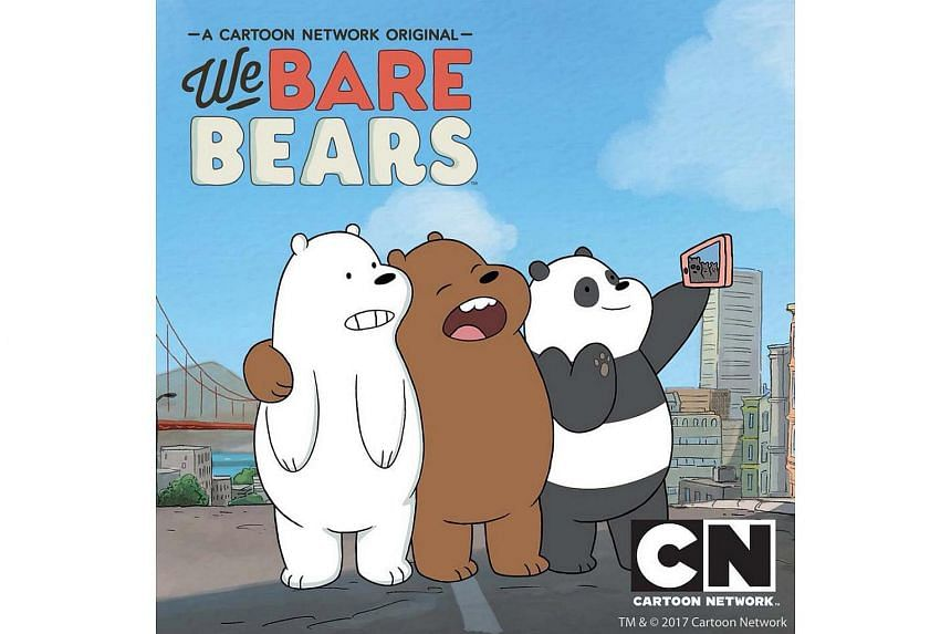 The Soup Spoon Union x Cartoon Network Cafe at Punggol Waterway Point will feature dishes inspired by programmes such as We Bare Bears (pictured) and the Powerpuff Girls.