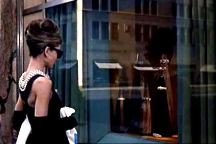 A cinema still from Breakfast At Tiffany's starring Audrey Hepburn.