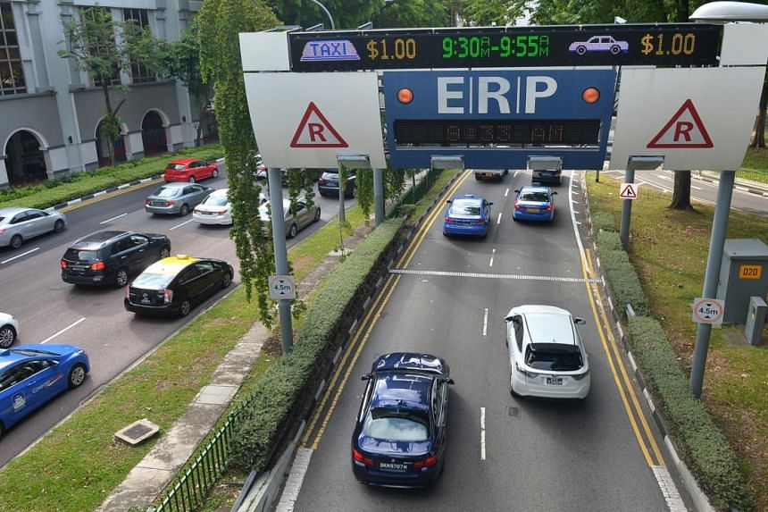 ERP rates at certain roads and expressways will be reduced by $1 during the December school holidays.
