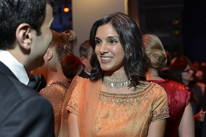 Ms Radhika Jones (left) will succeed Mr Graydon Carter (above), who is stepping down as editor of Vanity Fair.