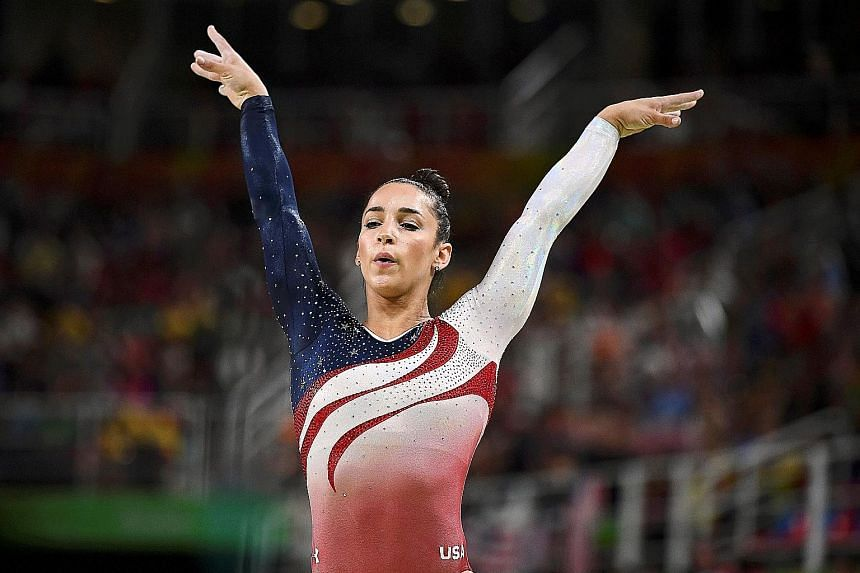 """QUESTIONING HIS MOTIVES: """"We were told he is the best doctor. He's the United States Olympic doctor and the USA Gymnastics doctor, and we were very lucky we were able to see him."""" - ALY RAISMAN, on revering Larry Nassar."""