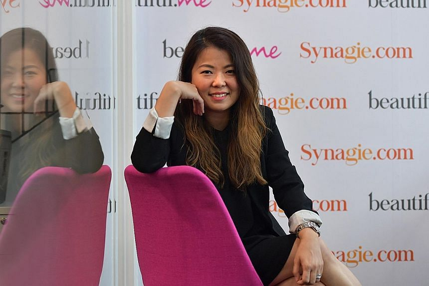 Ms Olive Tai was working at Watsons as a trading director when she noticed there were no equivalent personal care stores online. She decided to start something to help companies in the fast-moving consumer goods sector manage their online inventory f