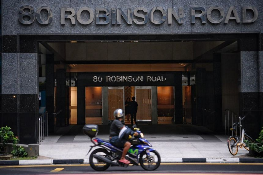 The hub will be a 100,000 sq ft space at 80 Robinson Road, an office building owned by Hong Leong Group.
