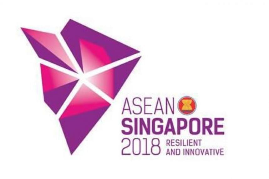 """The logo, featuring a """"modern, stylised design"""", was unveiled at the closing ceremony of the 31st Asean Summit in Manila."""