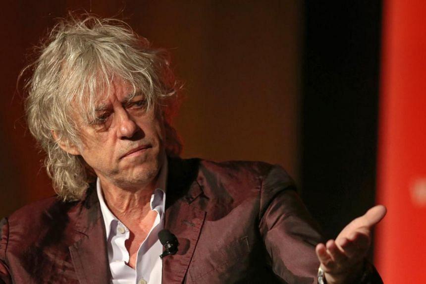 Bob Geldof slammed Aung San Suu Kyi over her country's treatment of its Rohingya Muslim minority.