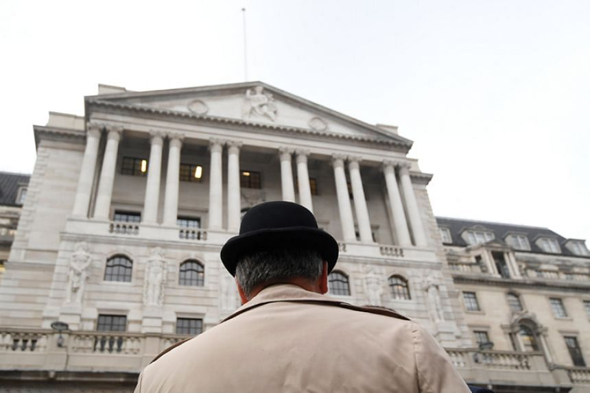 When the Bank of England (above) raised rates for the first time in a decade in early November, it said it expected inflation would hit 3.2 per cent in October before starting to fall slowly towards its 2 per cent target.