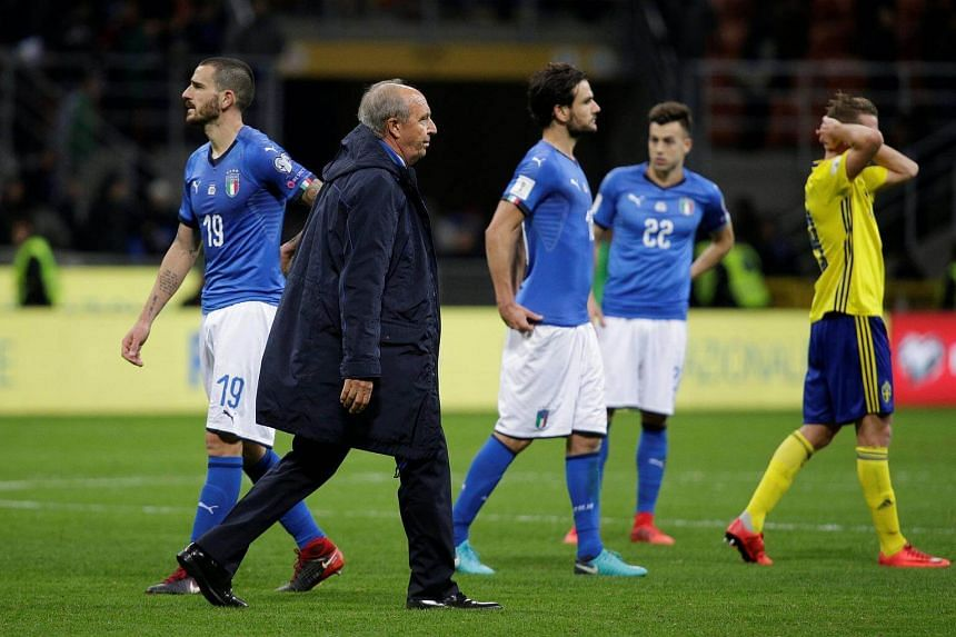 Ventura said he would not decide on his future before speaking to the Italian football federation.