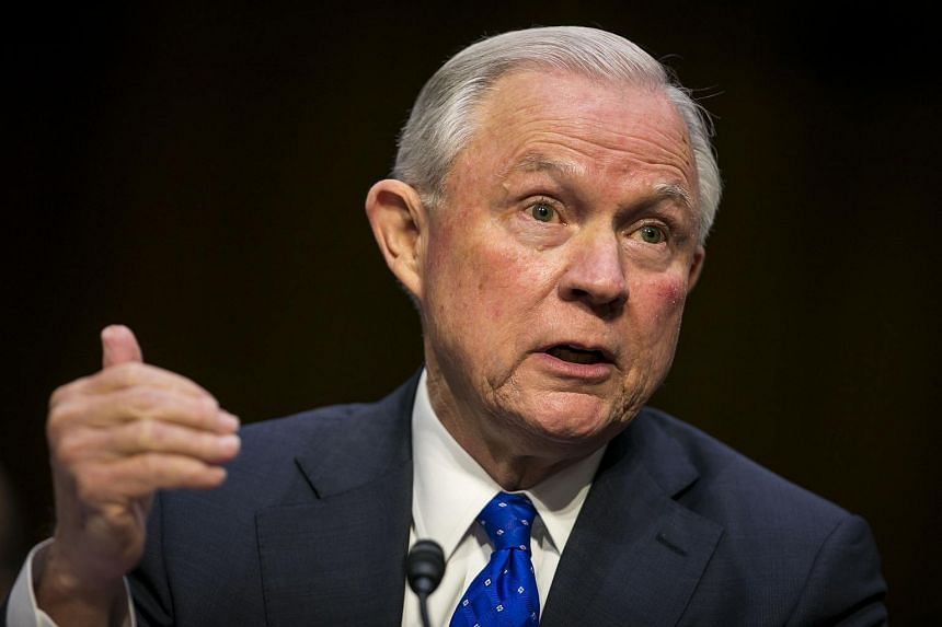 Attorney General Jeff Sessions testifies before the Senate Judiciary Committee on Capitol Hill in Washington DC.