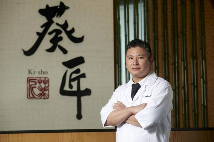 Chef Kazuhiro Hamamoto of Ki-sho. The restaurant was awarded the Best of the Best award for fine dining at the annual RAS Epicurean Star Award.