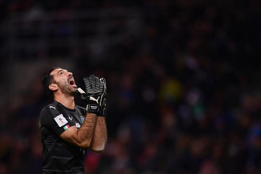 Buffon said after Monday's goalless play-off draw against Sweden, which ended Italy's hopes of going to Russia, would be the last match in his 20-year Italy career.