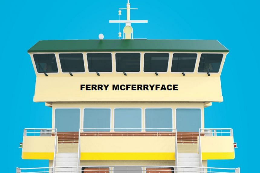 The New South Wales state government has announced that one of Sydney's ferries will be named Ferry McFerryface following the results of a public poll.
