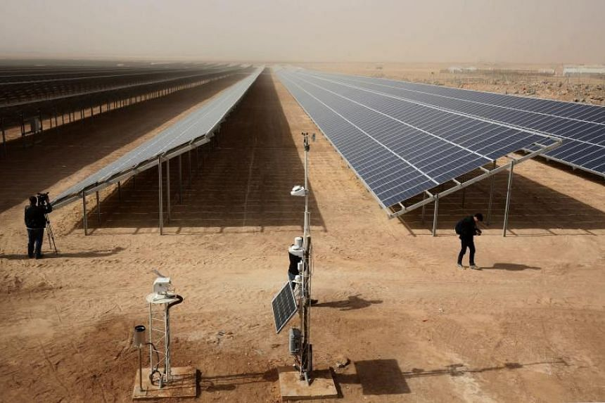 Some 80,000 Syrian refugees living in the Zaatari camp will have access to 14 hours of electricity per day instead of eight hours, thanks to the opening of the new solar power station on Nov 13, 2017.