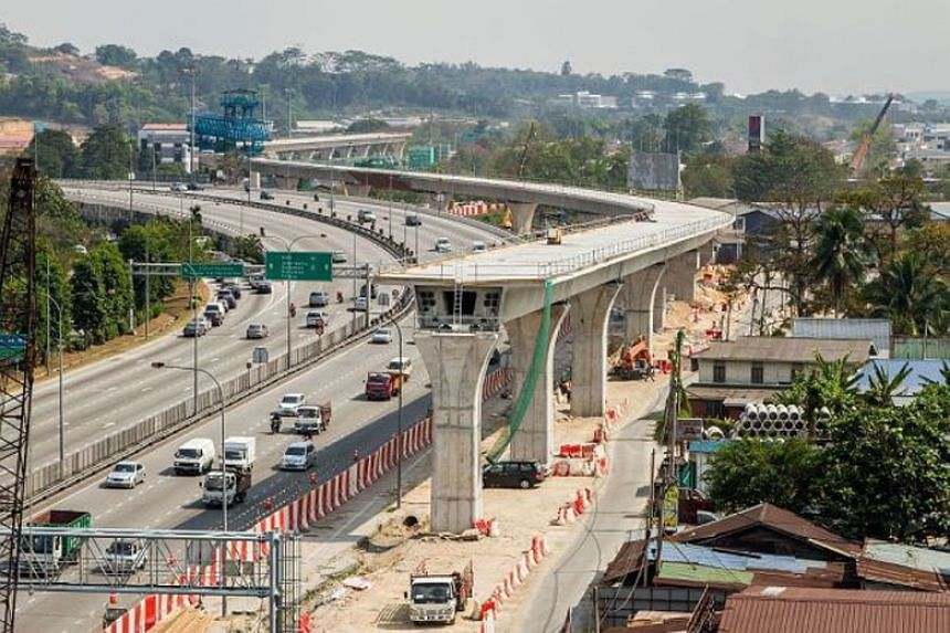The Malaysian government is asking bidders to provide 90 per cent upfront financing for the over RM30 billion (S$9.7 billion) MRT system project.